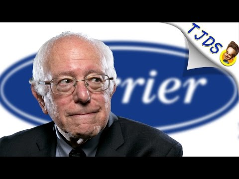 Bernie Sanders Lays Out Exactly How A Real Leader Should Handle Carrier