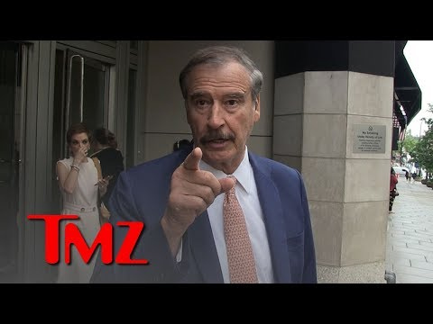 Vicente Fox Shades Obamas for Netflix Deal and Focusing on Money | TMZ