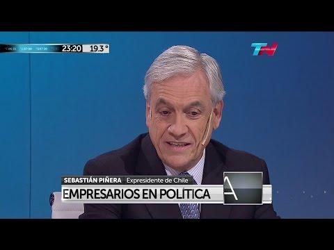 """S.Piñera en """"Odisea Argentina"""" de C.Pagni y N.Dujovne - 04/04/16"""