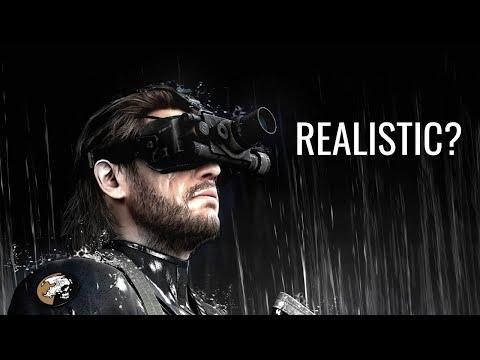 Real Espionage Vs. Metal Gear Solid