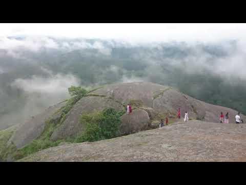 Kyllang rock top view in West khasi Hills,meghalaya.