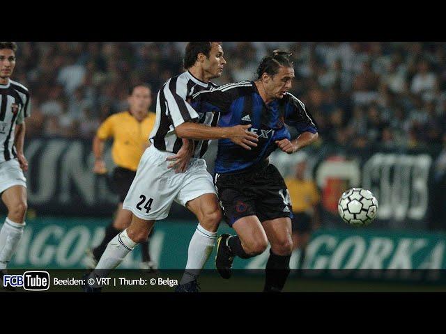2004-2005 - Champions League - 02. 2de Voorronde - Lokomotiv Plovdiv - Club Brugge 0-4