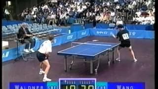 jan ove waldner vs wang liqin 1997 japan table tennis open men s final hq picture