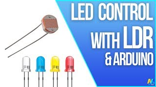 LED Control with LDR (Photoresistor) and Arduino