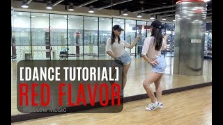 Red Velvet 레드벨벳_빨간 맛 (Red Flavor)_ Lisa Rhee Dance Tutorial