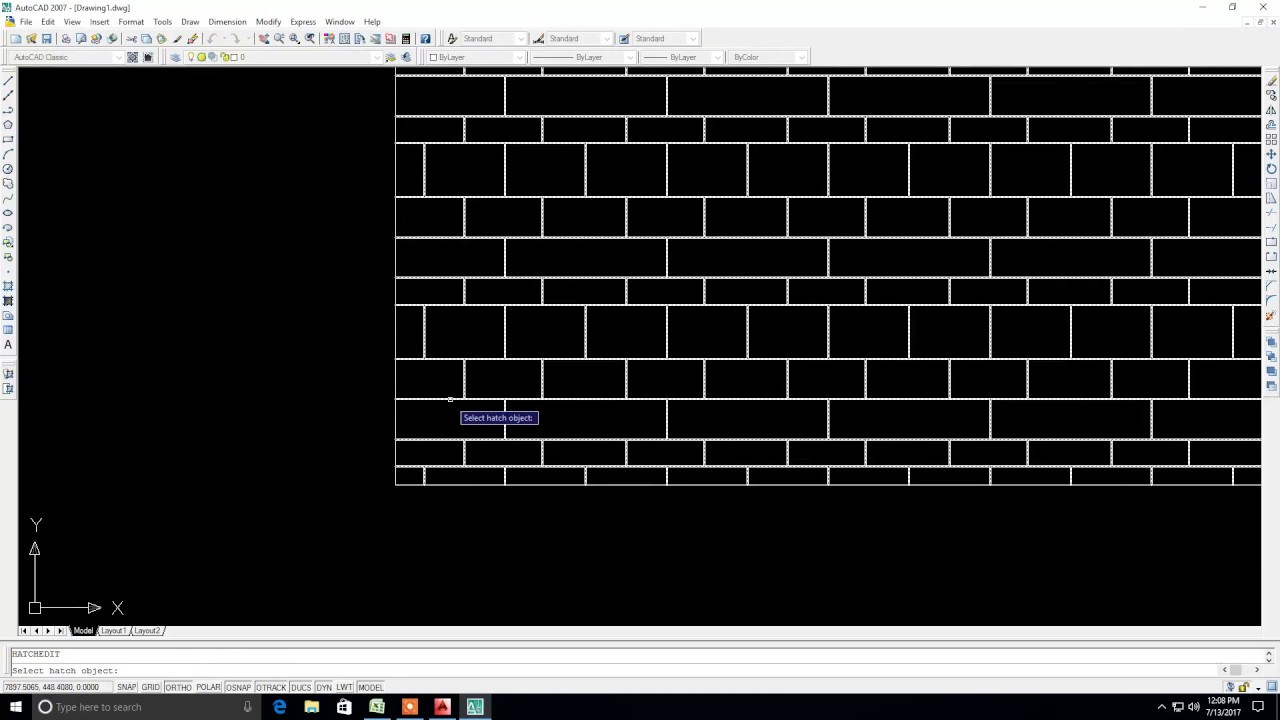 simple trick - how to make custom hatch in autocad