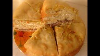 Закрытый дрожжевой пирог. Ossetian Pies