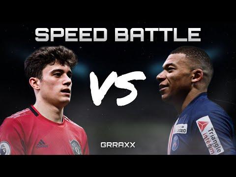 Speed Battle - Mbappe Vs James 2019/20 HD