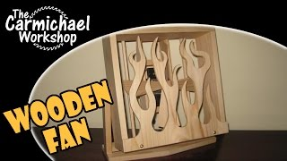 How To Make A Wood Electric Fan From A Cheap Plastic Fan - Diy 2x4 Contest Project