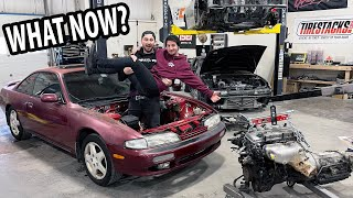 Deciding the fate of the 'Field Find' 240sx!
