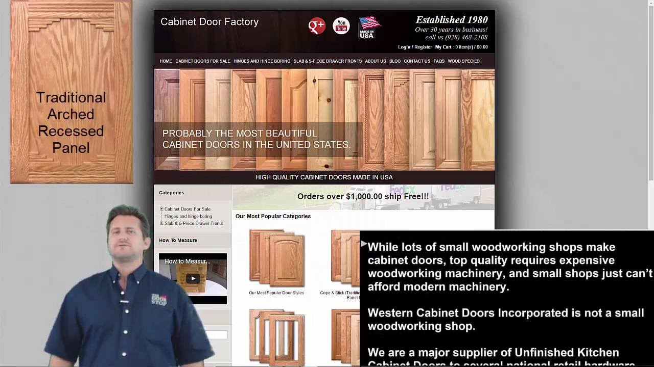how to buy cabinet doors unfinished