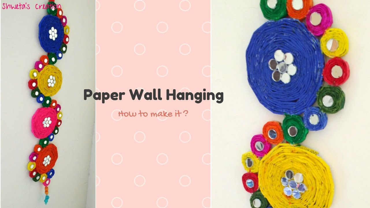 wall hangings craft ideas how to make a paper wall hanging step by step best from 5695