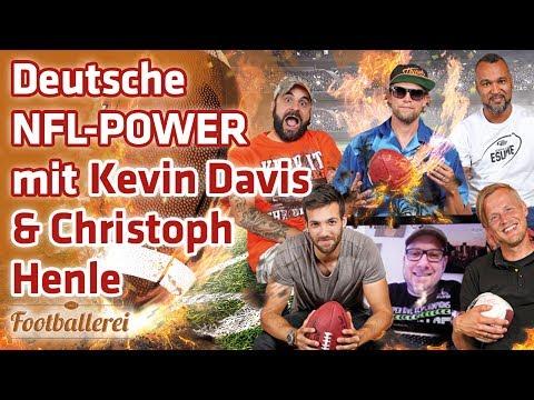 Deutsche NFL-Power mit KEVIN DAVIS & Christoph HENLE    Footballerei SHOW