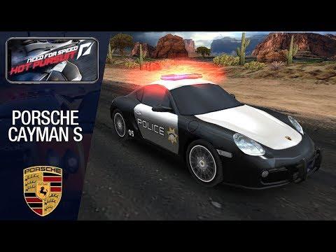 NFS: Hot Pursuit (Mobile) - Porsche Cayman S (Police) Ill Iegal
