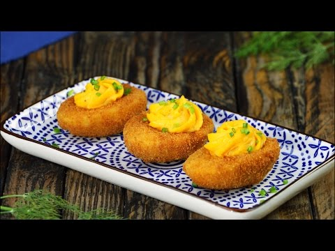 Fried Deviled Eggs – Tasty Solution To Hard-Boiled Egg Overload