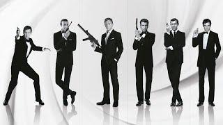 Джеймс Бонд. Все 23 фильма об агенте 007!