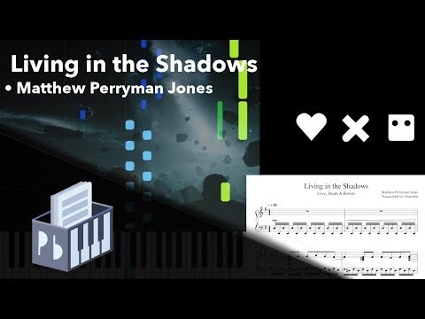Living In The Shadows - Love, Death & Robots [Piano Tutorial + Sheets/MIDI] (Synthesia) // Pianobin