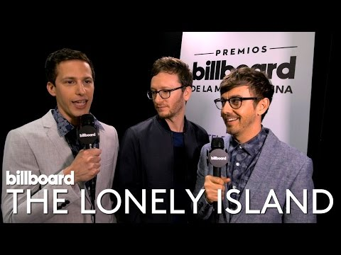 Andy Samberg and Lonely Island Interview | Backstage at Latin Music Awards 2016
