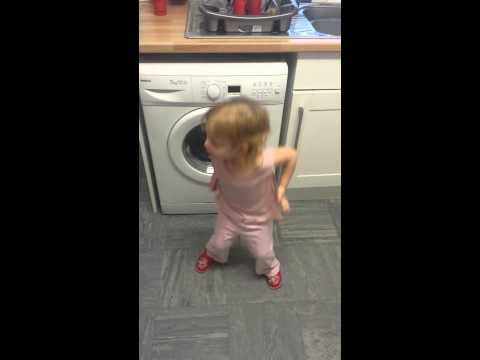 My baby girl trying to dance