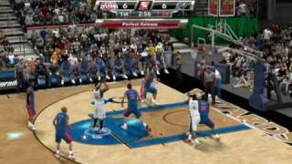 NBA 2k9 PC Wizards vs. Pistons