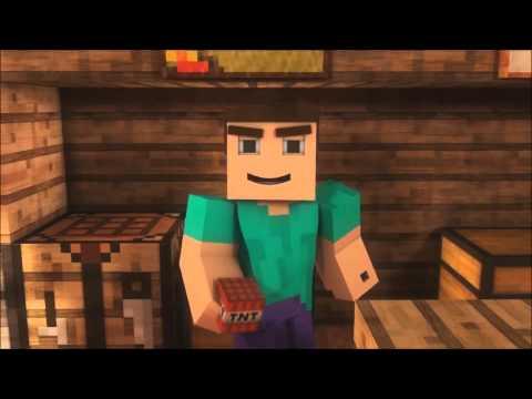 -Where My Diamonds Hide-  A Minecraft Parody of Imagine Dragon's Demons (Music Video)
