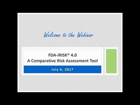 FDA-iRISK® 4.0: Food Safety Risk-Assessment Tool