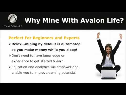 Avalon Life DAO   Crypto Mining Platform Overview NEW