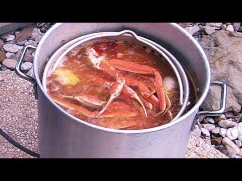 Cajun Seafood Boil   Snow Crab Legs & Shrimp