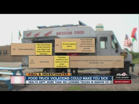 Indianapolis food trucks | Health inspections find critical violations