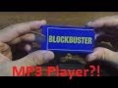 Oddware: Blockbuster MP3 Player!