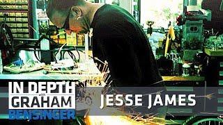 jesse james on fame i should be under a car not on a red carpet