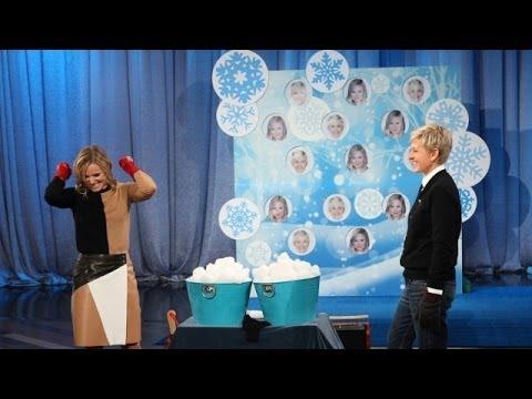 Kristen Bell and Ellen