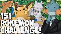 Kennt RGE die ersten 151 Pokémon? Die 151 Pokémon Challenge! - RGE