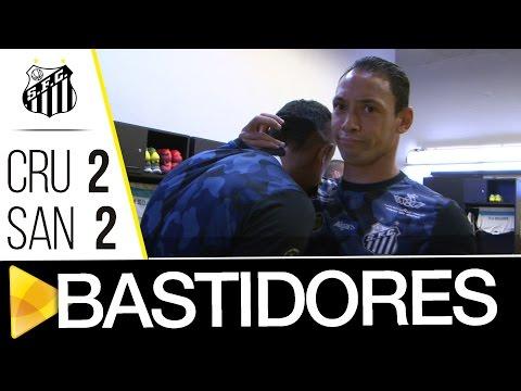 Cruzeiro 2 x 2 Santos | BASTIDORES | Brasileirão (20/11/16)