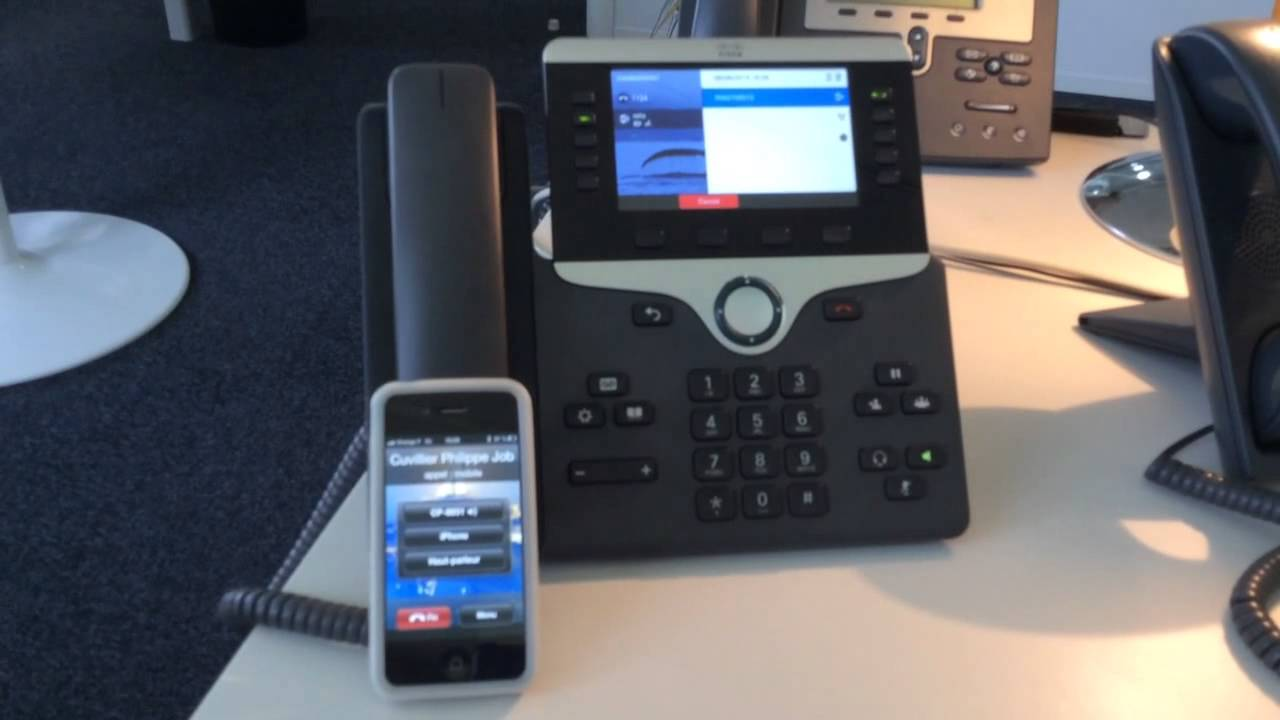 Cisco 8800 8861 Phone Overview - YouTube