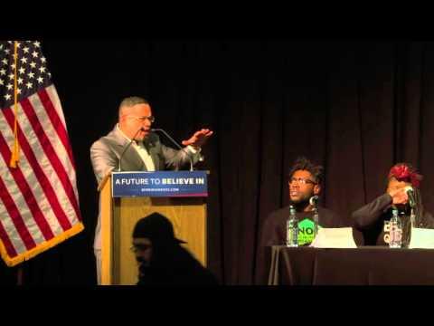 Keith Ellison Introduces Bernie Sanders