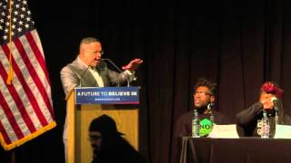 Keith Ellison Introduces Bernie Sanders