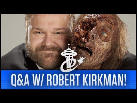 FULL Q&A W/ ROBERT KIRKMAN @ ECCC 2017