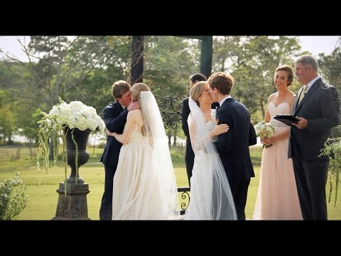 Ashton and Shelby's Double Wedding with Coyt and Seth at the Miller Farm in Bainbridge, GA