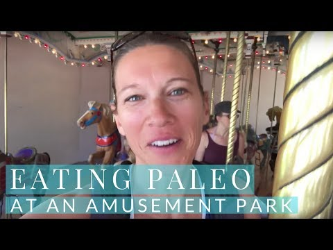 Eating Paleo at an Amusement Park