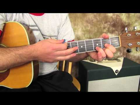 Three Little Birds, Bob Marley - Easy Acoustic Songs Guitar Lesson - Beginner Guitar lesson