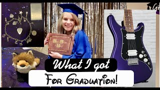 What I Got For Graduation - and New Guitar!
