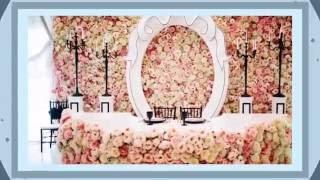 Оформления место жениха и невесты!!!