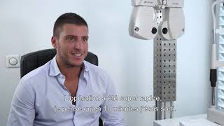 Publicité vidéo pour la chirurgie laser des yeux: Marc (court 2)