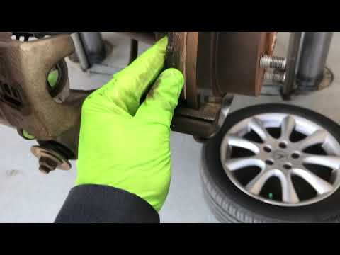 2004 – 2008 Acura TSX -How to Replace Rear Brake Pads -DIY