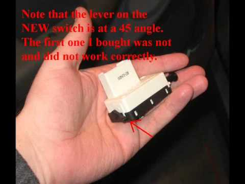 brake light switch replacement - YouTube
