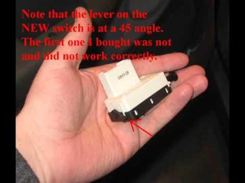 1990 Dodge Dakota Fuse Box Diagram Wiring Schematic Brake Light Switch Replacement Youtube
