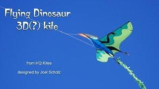 flying dinosaur 3d kite that isn t