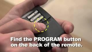 programming craftsman garage door opener universal remote