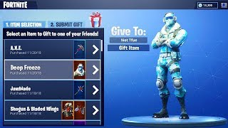 GIFTING THE SYSTEM OF SEASON 7 OF FORTNITE!! * * NEW INFORMATION * *